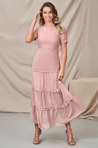 back_Life is Beautiful Dusty Rose Maxi Dress