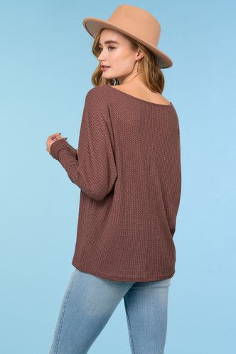 back_So Comfy {color} Round Neck Tee