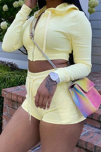 front_Maria Elma Yellow Set