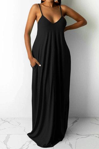 front_Jean Elva Black Dress