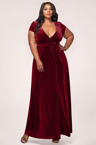 back_Dreaming Of You {Color} Velvet Maxi Dress