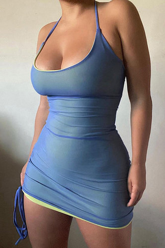 front_Yvette Eileen Blue Bodycon Dress