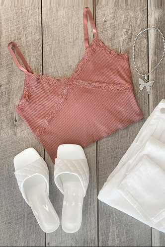 front_Dream Life Light Brown Cami