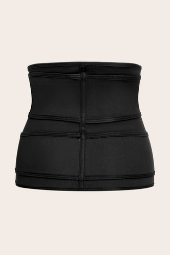 back_Lulu Elsa Black Corset Shapewear