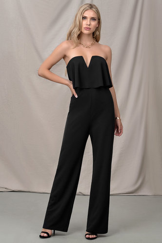 front_Pride and Prejudice Black Jumpsuit