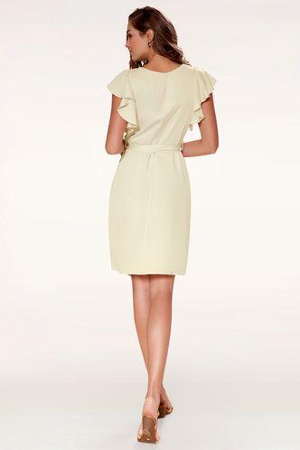 back_Expressive Apricot Midi Dress