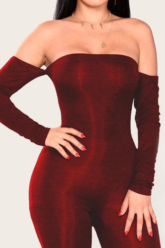 back_Gustave Elizabeth Red Jumpsuit