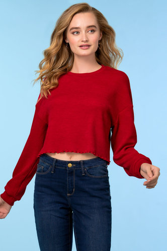 front_Drafty Red Top