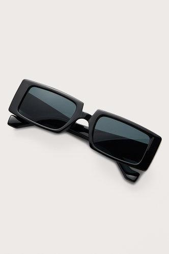 front_Tessa Elizabeth Grey Acrylic Frame Sunglasses