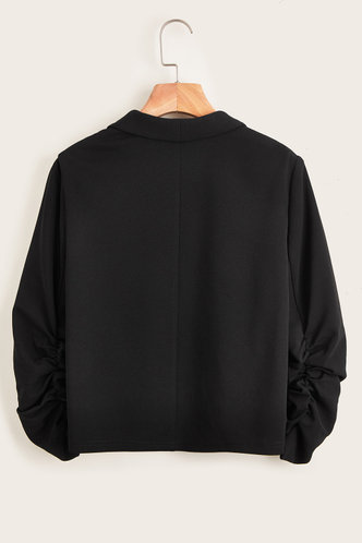 back_Albrooks Black Blazer