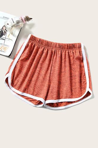 front_Darlene Eleanore Rust Orange Short