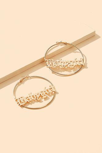 back_Melissa Ella Gold O-Ring Letter Detail Earrings