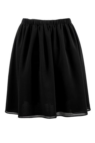 front_Cross The Oceans Black Skirt