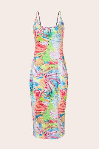 back_Kristin Elma Multicolor Bodycon Dress