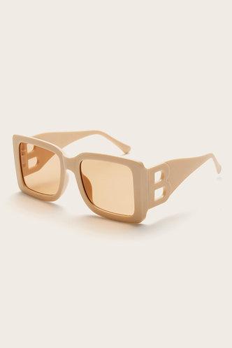 front_Beige Glasses & Eyewear accessories