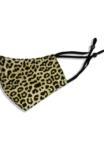 back_Non-medical Leopard Print Reusable Face Mask