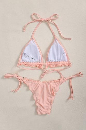 back_Etta Elaine Coral Pink Bikini