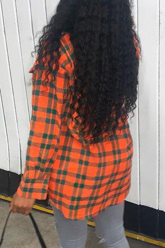 back_Deborah Nakan Plaid Button Up Blouse