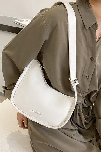 front_Tess Edwina White Shoulder Bag