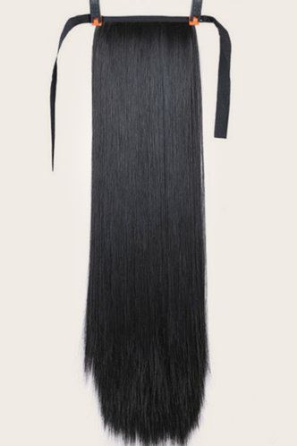 back_Beryl Kamino Black Long Straight Wig 1pc