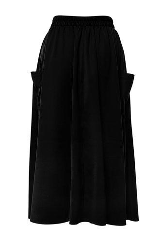 back_Sibyl Elaine Elegant Black Skirt