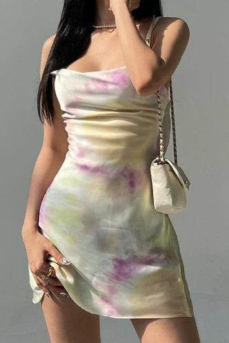 front_Deirdre Klub Tie Dye Cami Dress