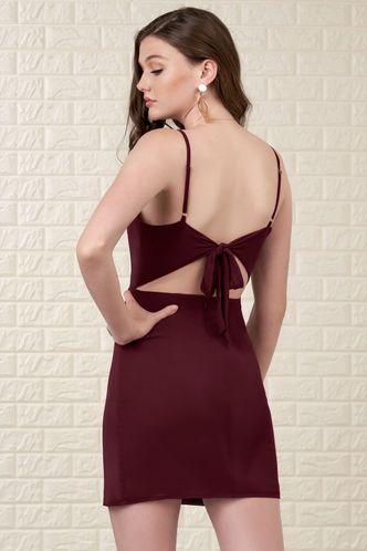 back_Moon River {Color} Mini Dress