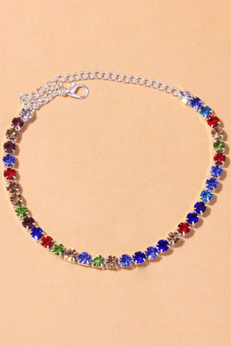 front_Phyllis Esther Multicolor Anklet Chain