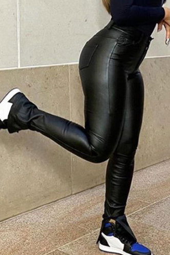 front_Sybil Eunice Black Pants