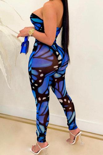 back_Alexandria Emma Blue And Black Jumpsuit