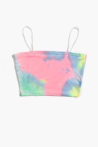 back_Debbie Eileen Multicolor Crop Top