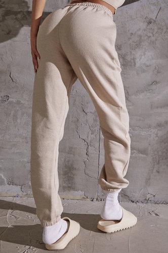 back_Evangeline Ostum Khaki Sweatpants