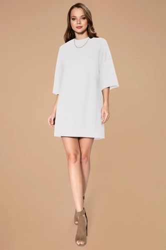 front_Just Right {Color} T shirt Dress