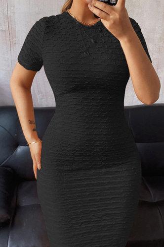 back_Ellen Esther Black Tie Open Back Dress