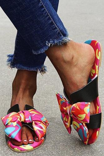 front_Erica Jhurnal Multicolor Slide Sandals