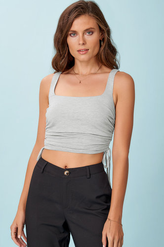 front_Weekend Chill {Color} Sleeveless Top