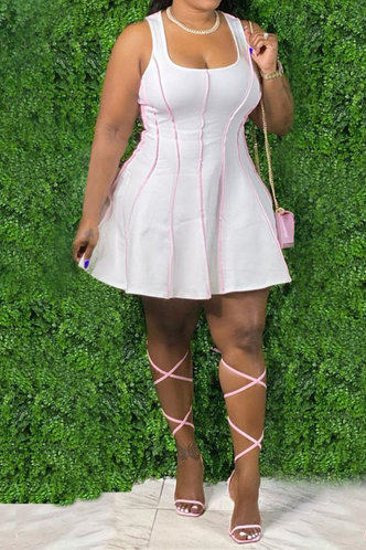 front_Dawn Kanjas White Plus Dress
