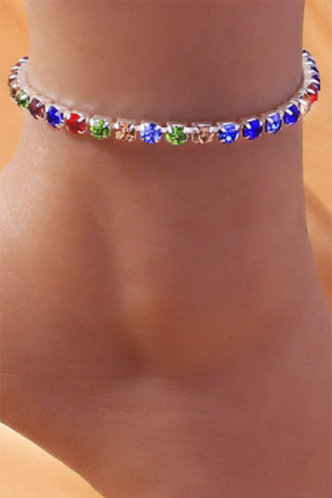 back_Phyllis Esther Multicolor Anklet Chain