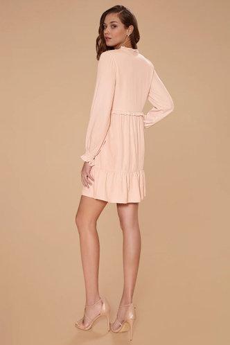 back_Benevolence Pink Mini Dress