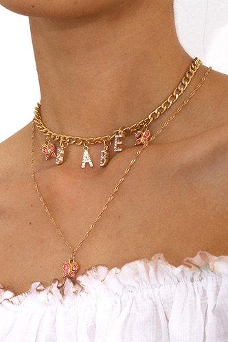 front_Mamie Edwina Gold Layered Necklace