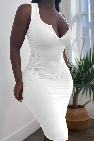 front_Germaine Eve White Dress