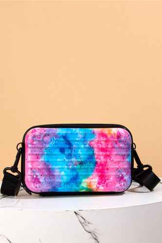 front_Evangeline Jhurnal Rainbow Tie Dye Crossbody Bag