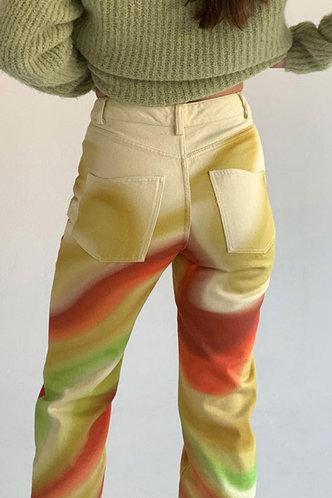 back_Rosita Erica Wave Print Pants