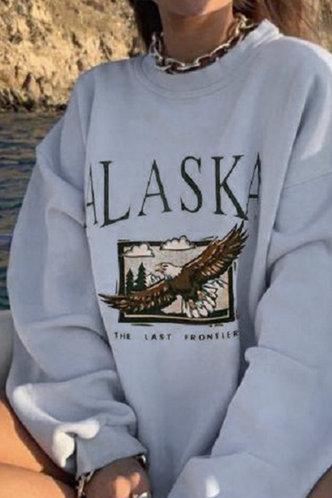 back_Camilla Eileen White Sweatshirt