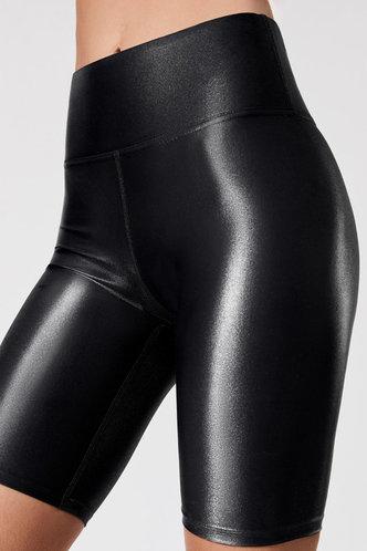 back_Amber Eartha Black Biker Shorts