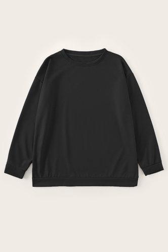 back_Frieda Eartha Black Sweatshirt