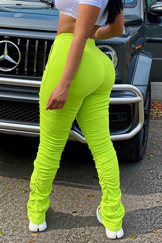 back_Erin Edith Lime Green Pants