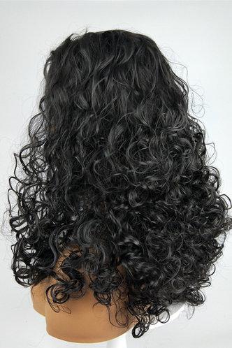 back_Plain Black Hair Accessories