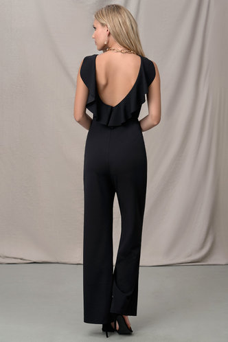 back_Beautiful Grazy Black Jumpsuit