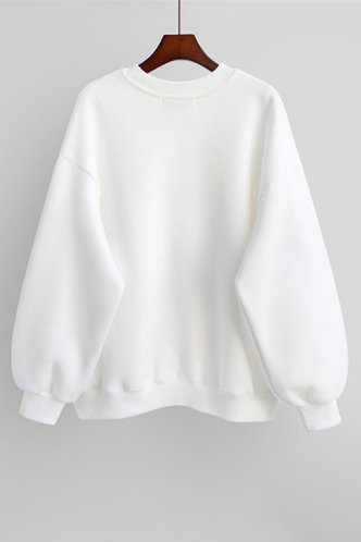 back_Vesta Eve White Pullover